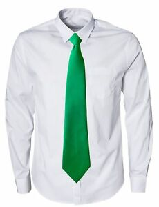 683d9591f392 Image is loading Emerald-Green-Standard-Mens-Ties-St-Patrick-039-