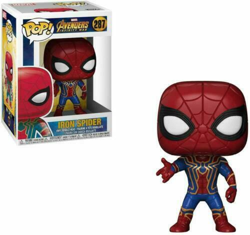 Marvel Avengers Infinity War-IRON SPIDER Figura in vinile #287 Funko Pop