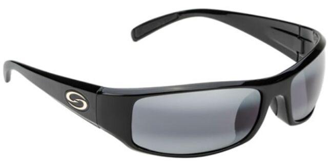 962008bcd1 Strike King S11 Optics Polarized Sunglasses Okeechobee Shiny Black ...