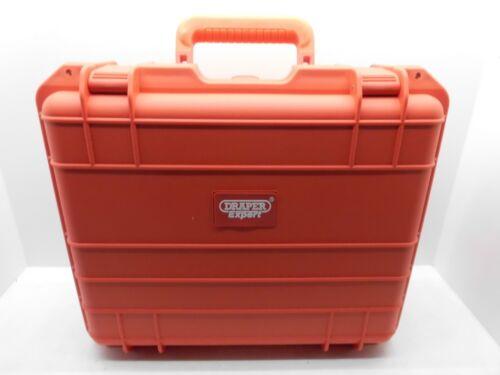DRAPER 08398 WATER RESISTANT STORAGE CASE BOX WORKSITES PROTECTION 485x355x186