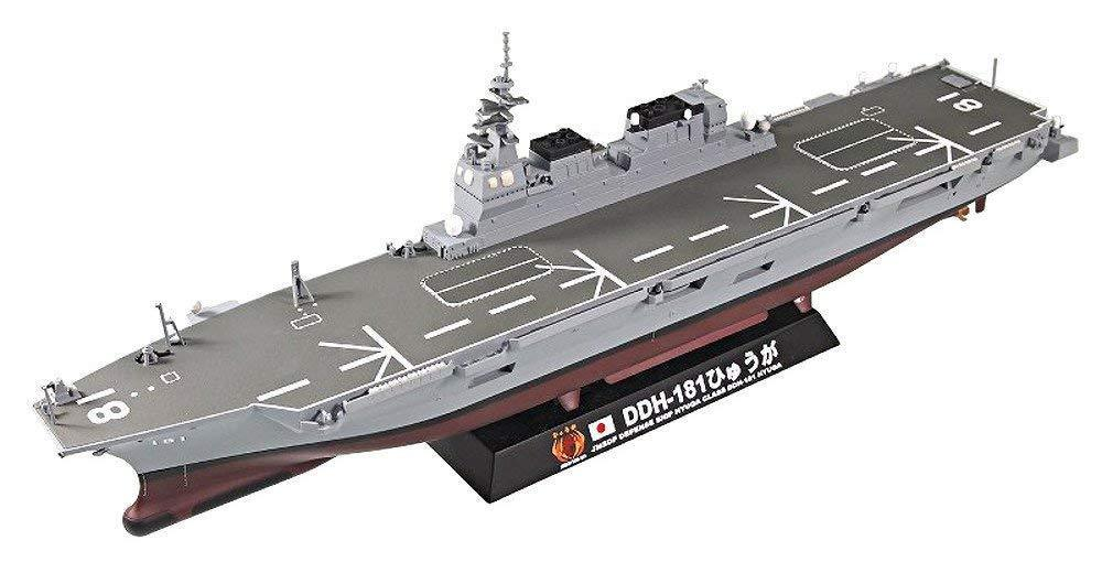 Pit-Road JMSDF helicopter Destroyer DDH-181 Hyuga 1 700 Finished Finished Finished Model EMS W T 091f04