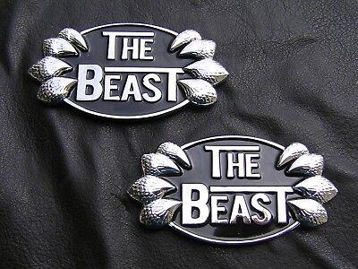 CUSTOM CAR EMBLEM Chrome Metal Badge *NEW* ~ HotRod RatRod Lowrider Chevrolet