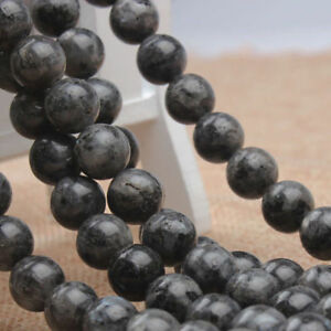 Rock Volcanic Lava Natural Stone Gemstone Round Spacer Loose Beads 4-12MM