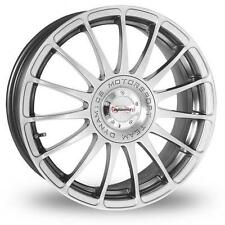 "18"" Team Dyanamics MONZA R Hyper Silver 4x108 et37 Brand New Alloy Wheels Only"