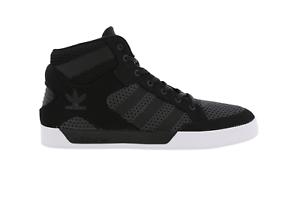 S80996 Hard Black Adidas Court Mens Hi Trainers SBwnYq5Apx