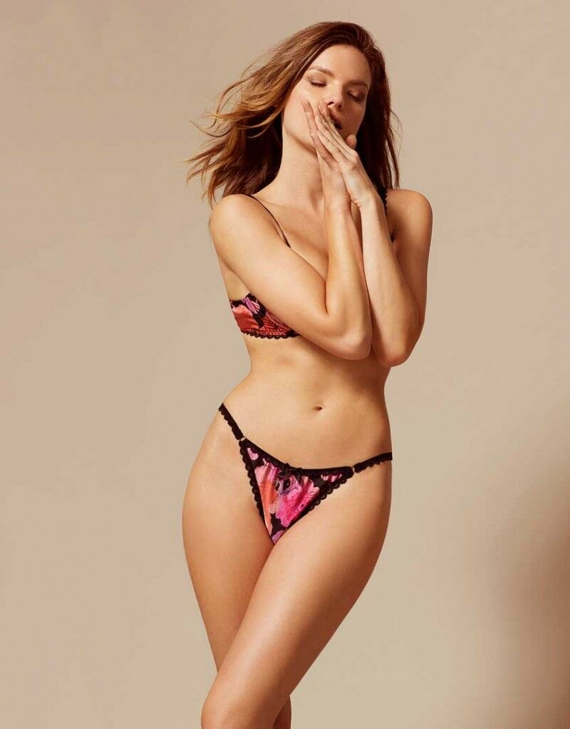 Agent Provocateur JUNE Thong in Pink Size 2 Small  Ret  95 New w Tags