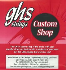 lapsteel lap steel guitar strings E tuning slide, dobro, resonator GHS GLSE
