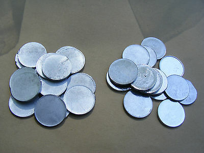 50 LARP Münzen ROHLINGE Taler Larpmünzen Geld Larpgeld Rollenspiele Spielgeld