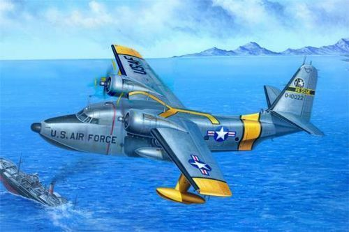 Trumpeter 1/48 Grunman Hu-16a Albatross Volante Barca 02821