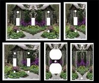 Outhouse In The Garden Light Switch Cover Plate