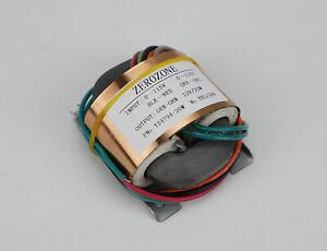 9V //12V //15V// 18V// 24V// 28V    L9-49 30VA Pure copper R-core transformer 2X 6V