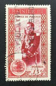 Sello-Monaco-Yvert-Y-Tellier-N-342-Matasellados-Cyn37-Stamp