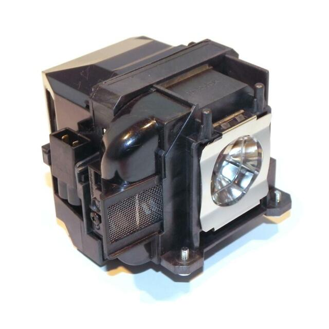 Genuine OEM Replacement Lamp for Epson ELPLP48 Projector Power by Osram IET Lamps with 1 Year Warranty