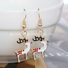 Fashion Jewelry Christmas Earrings Xmas Women Drop Dangle Earrings New Year Gift