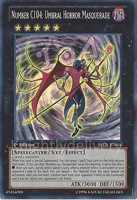 Authentic Vector Deck Number C104 Umbral Horror Masquerade Yugioh 41 Cards 689054853543 Ebay