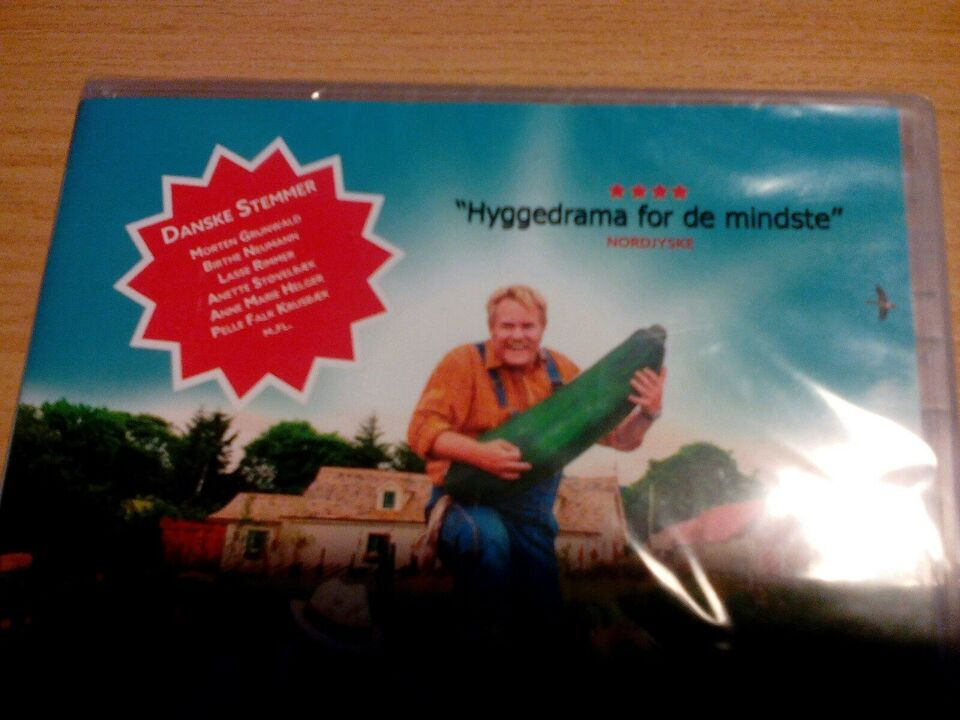 Den lille grå traktor Fergie med Dansk tale, DVD,
