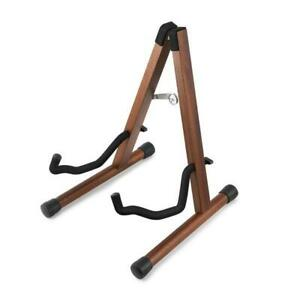 Donner Wooden Guitar Stand Handmade Foldable for electric and  acoustic guitars