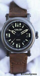 NEW-Lum-Tec-400M-series-400M-3-Military-Miyota-9015-automatic-Watch-w-WARRANTY