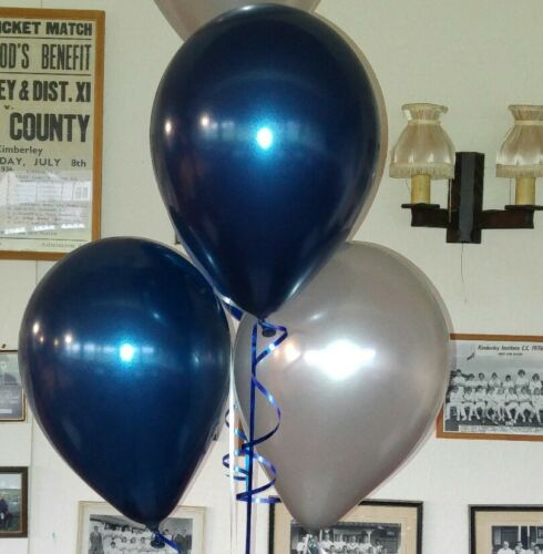 """Weddings 10x11/"""" Midnight Blue Qualatex latex balloons for Parties"""