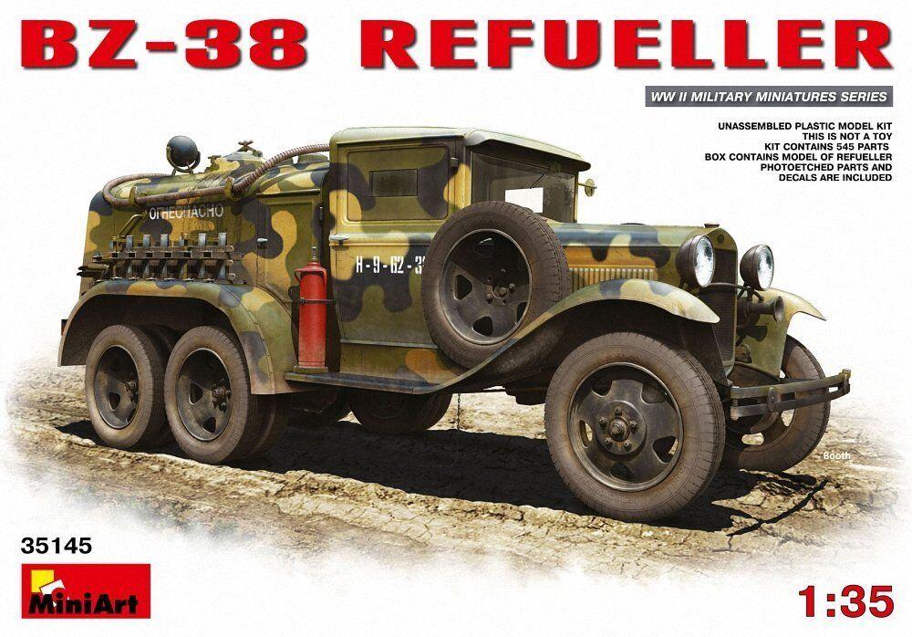 MiniArt Bz-38 Refueller 1 35 New