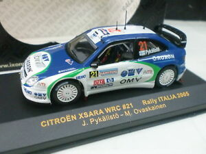 1-43-CITROEN-XSARA-WRC-PYKALISTO-OVASKAINEN-RALLY-ITALIA-2005