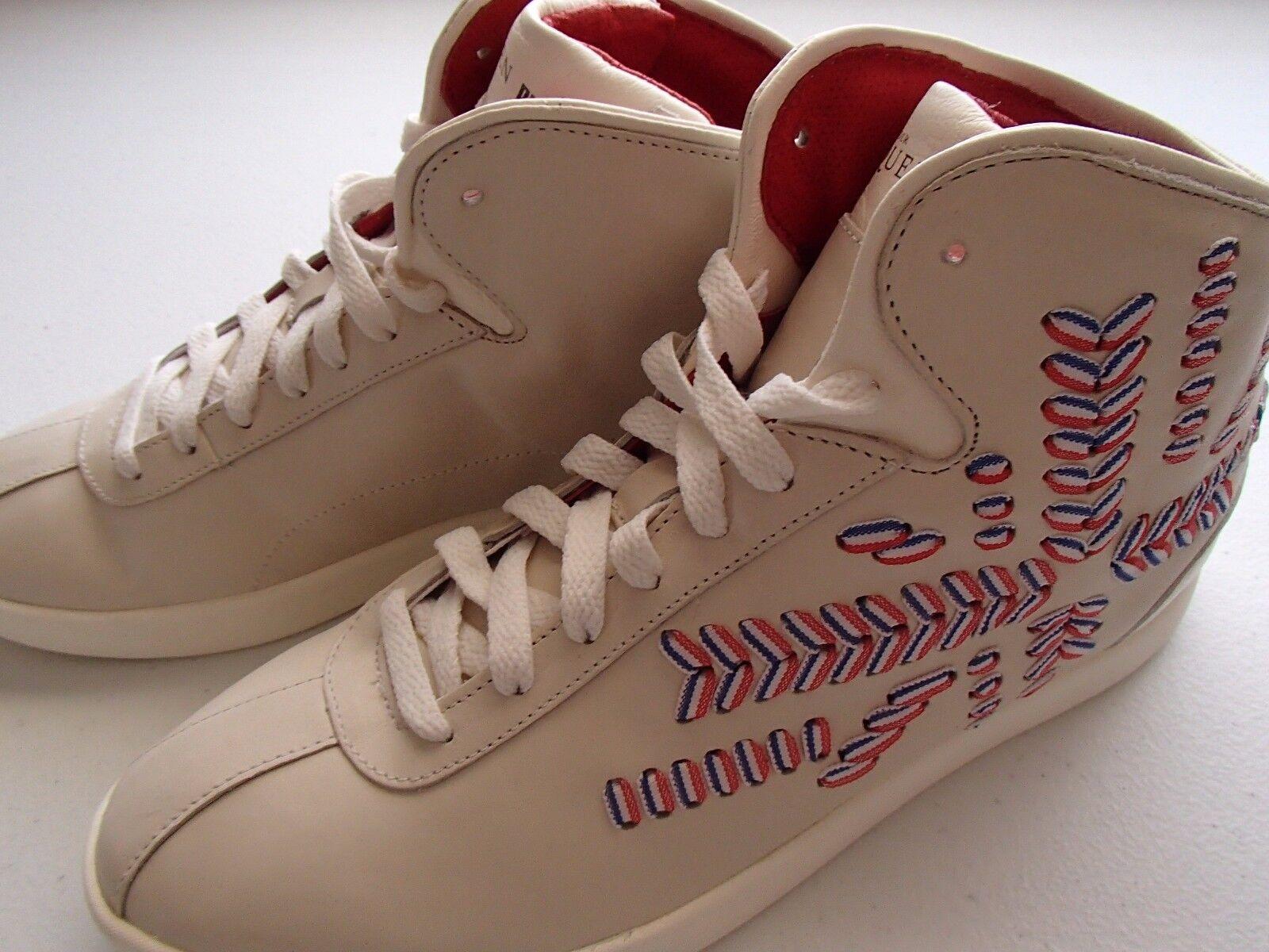 Puma Alexander McQueen AMQ Medius 9.5 MID Leather Women's Shoes, 9.5 Medius M 5aeea4