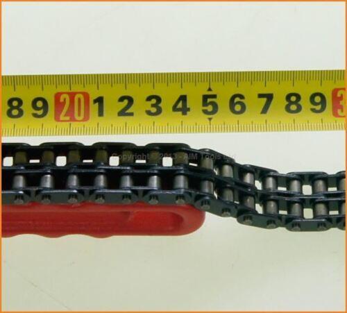Linea doppia Tubo Chiave a catena filtro olio per auto veicoli 450181