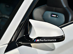 2-x-For-BMW-M-PERFORMANCE-Mirror-M-Sport-VINYL-STICKERS-Stripes-DECAL-Graphics