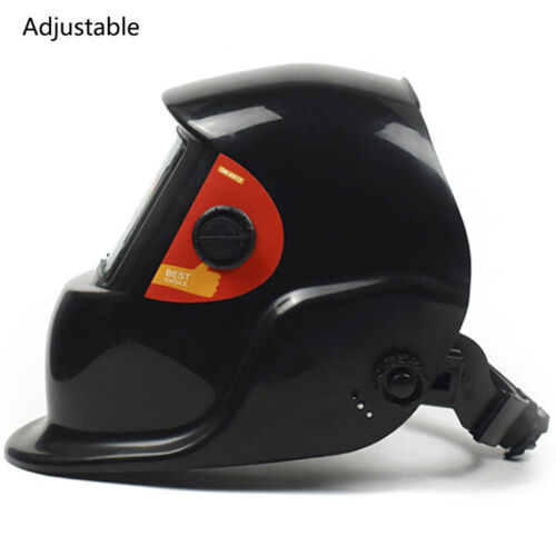 Solar Powered Auto-Darkening Welding Helmet Grinding Welder Mask Filter Shade CN