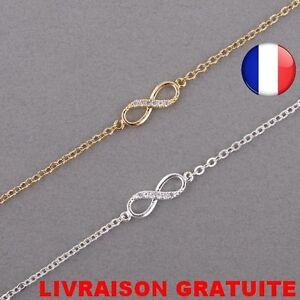 Bracelet-Infinity-Infiny-Mode-Strass-Femme-Zirconium-Idee-Cadeau-Bijoux-Amitie