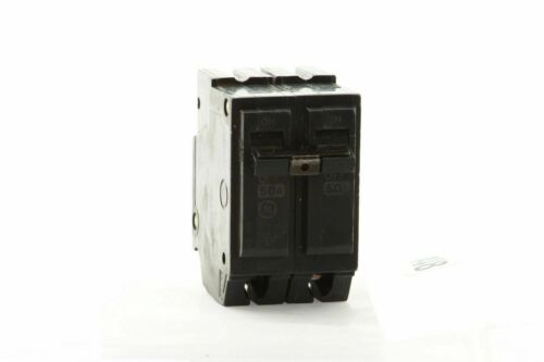 50 and 60 Amp 2 in GE Q-Line 40 Double-Pole Circuit Breaker