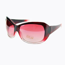 *ON SALE*  Two Tone UV400 Sunglasses Burgundy. Retro Stylish Fun Novelty Gift Id