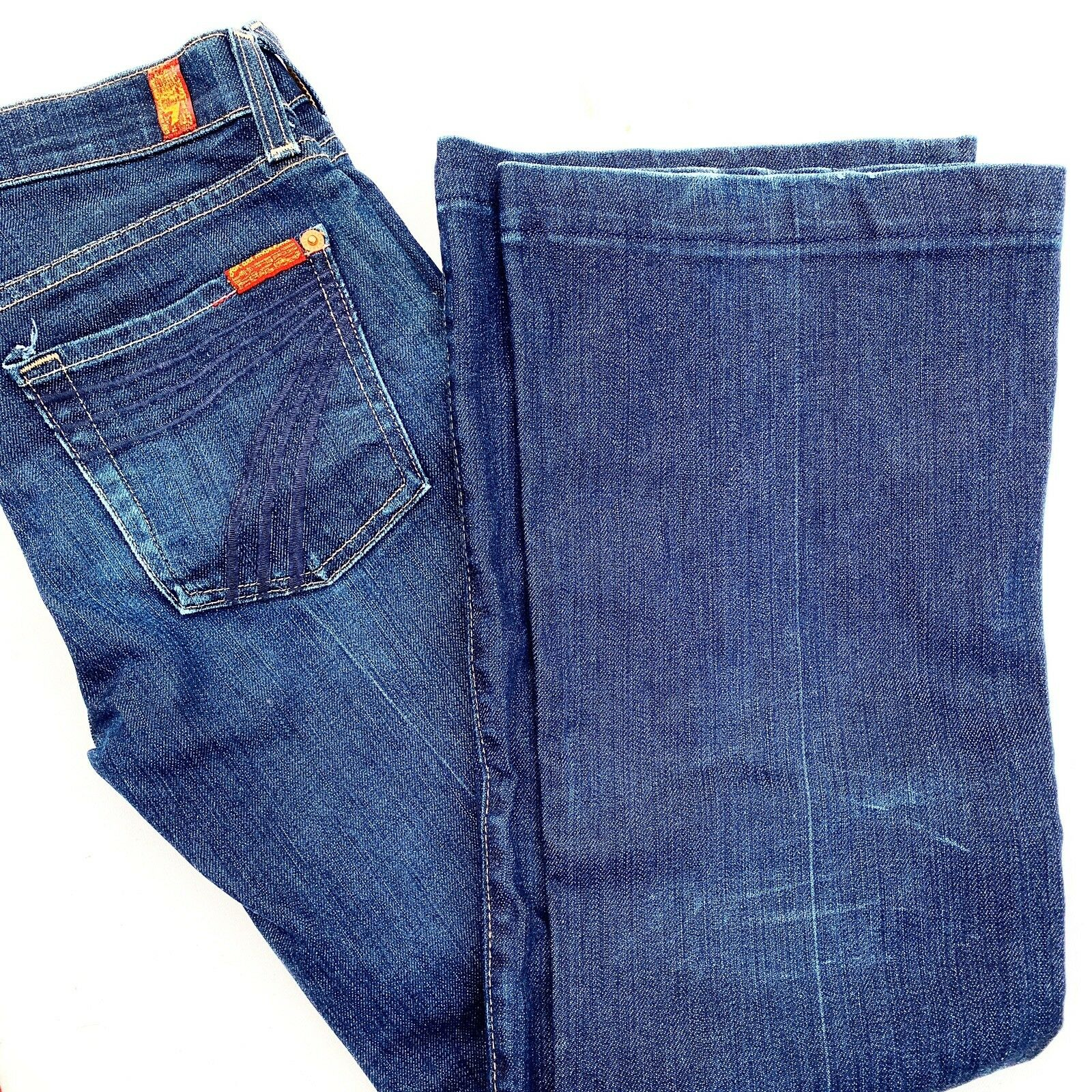 7 FOR ALL MAN KIND dojo jean flare contemporary 25