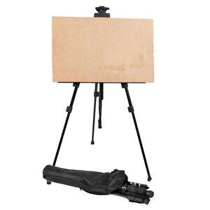 New-Hot-Tripod-Display-Exhibition-Art-Artist-Adjustable-Folding-Easel-White-Bag
