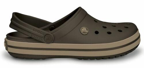 braun Crocs Damen-Herren-Sport-Freizeit-Clog-Schuhe Crocband TM