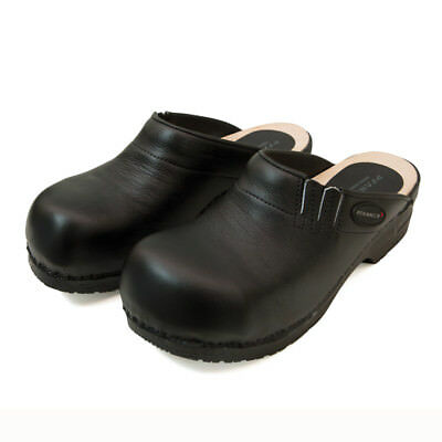 PFANNER Sicherheits-Clogs schwarz offen Clogs Sicherheitsschuhe Schuhe