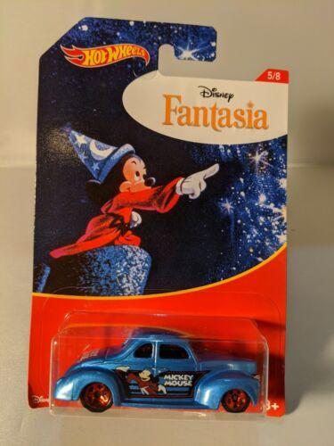 Hot Wheels Walmart exclusive Disney Series Fantasia blue 1940 Ford Coupe