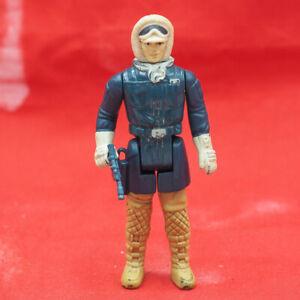 Vintage Star Wars Han Solo Hoth Action Figure w/ Blaster