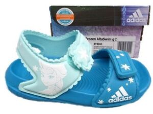 98d02201550 New ADIDAS Disney FROZEN AltaSwim I Infant Girls Kids SANDALS Shoes ...