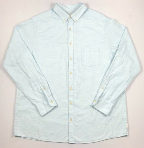 Details about  /Men/'s Big /& Tall ROWM Button-Front Long Sleeve Shirt