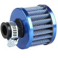 12mm Auto Motorrad Intake Luftfilter Sportluftfilter Turbo Vent Crankcase Blau