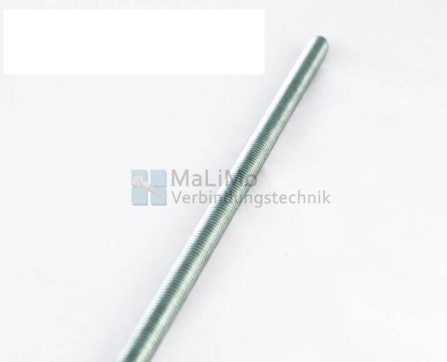 MaLiMo DIN 975 / 976 Gewindestange galv. verzinkt 4.6 1000 mm (1 Meter)