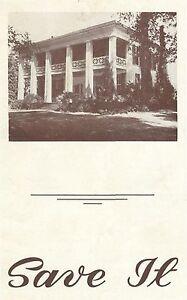 1952 Birmingham Alabama ARLINGTON ANTEBELLUM MANSION initial preservation effort