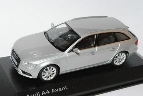 Audi A4 B8  Facelift Ab 2011 Avant Kombi Eis Silber Ab 2007 1//43 Minichamps Mode