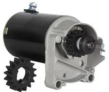 STARTER FITS BRIGGS & STRATTON 14 16 18 HP STARTER 497596 V TWIN WITH FREE GEAR