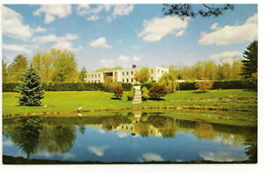 WILLIMANTIC-CT-Immaculata-Retreat-House-Vtg-Postcard