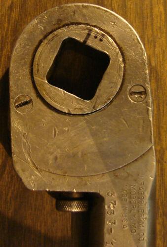 """Ratchet Wrench 1/"""" J Faessler 3733-18"""