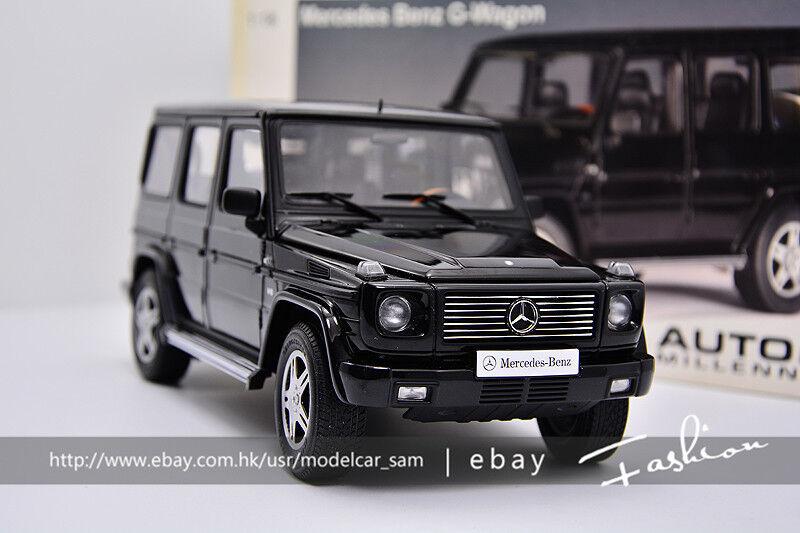 AUTOart 1 18 MERCEDES-BENZ G500 black black (4x4) 2012