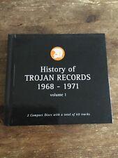 History Of Trojan Records Box Set 1968-1971 Skinhead Reggae Ska Cds Symarip