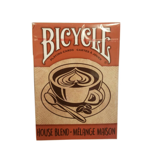 Bicycle House Blend Coffee Theme Playing Card Deck
